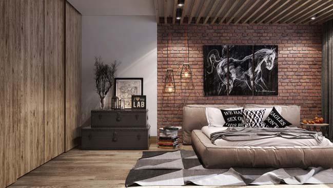 phong ngu dep voi thiet ke sang tao 22 Chiêm ngưỡng 5 mẫu phòng ngủ đẹp với thiết kế sáng tạo