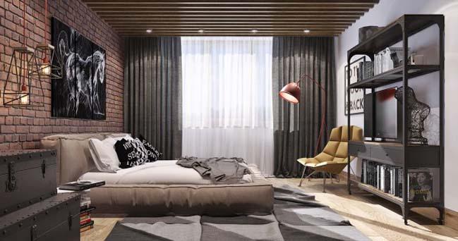 phong ngu dep voi thiet ke sang tao 23 Chiêm ngưỡng 5 mẫu phòng ngủ đẹp với thiết kế sáng tạo