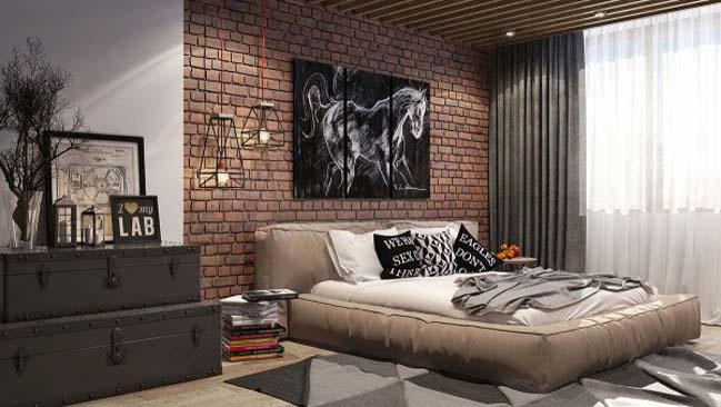 phong ngu dep voi thiet ke sang tao 25 Chiêm ngưỡng 5 mẫu phòng ngủ đẹp với thiết kế sáng tạo