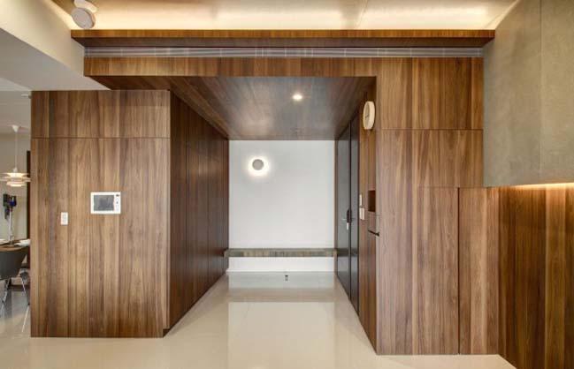 thiet ke noi that can ho hien dai sang trong 07 Thiết kế kiến trúc và nội thất căn hộ đơn giản nhưng vẫn sang trọng