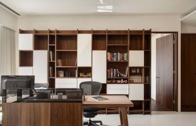 thiet ke noi that can ho hien dai sang trong 09 Thiết kế kiến trúc và nội thất căn hộ đơn giản nhưng vẫn sang trọng