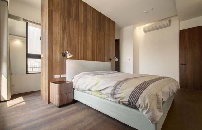 thiet ke noi that can ho hien dai sang trong 12 Thiết kế kiến trúc và nội thất căn hộ đơn giản nhưng vẫn sang trọng