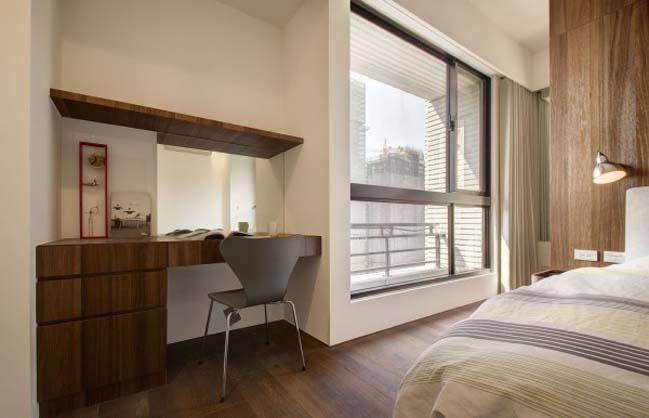 thiet ke noi that can ho hien dai sang trong 13 Thiết kế kiến trúc và nội thất căn hộ đơn giản nhưng vẫn sang trọng