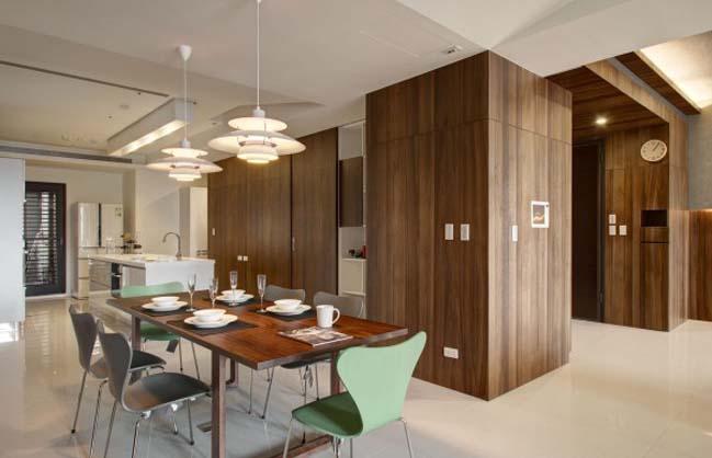 thiet ke noi that can ho hien dai sang trong 15 Thiết kế kiến trúc và nội thất căn hộ đơn giản nhưng vẫn sang trọng