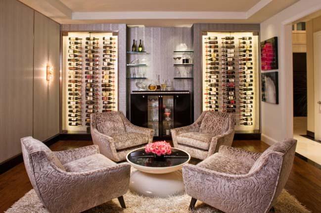 16 mẫu kệ rượu sành điệu cho ngôi nhà đẹp của bạn