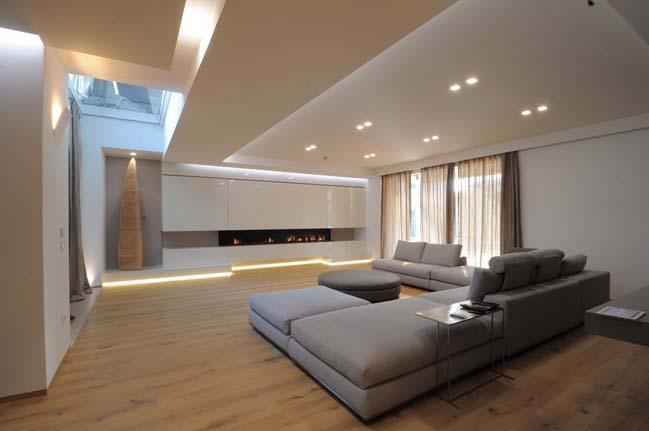 biet thu dep voi thiet ke toi gian 01 Kiến trúc nhà biệt thự đẹp với thiết kế tối giản sang trọng