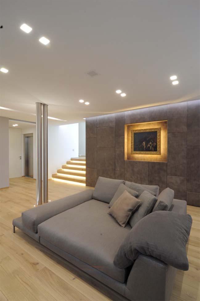 biet thu dep voi thiet ke toi gian 03 Kiến trúc nhà biệt thự đẹp với thiết kế tối giản sang trọng