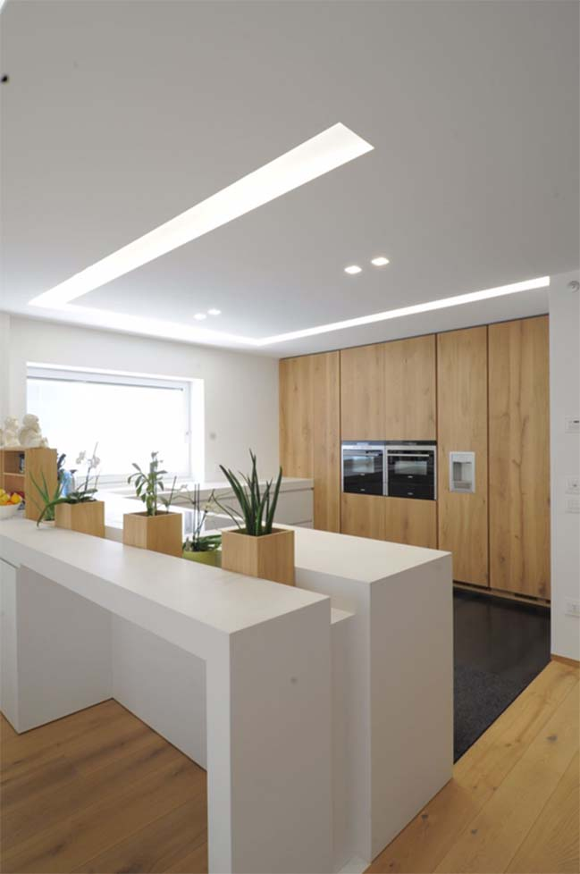 biet thu dep voi thiet ke toi gian 05 Kiến trúc nhà biệt thự đẹp với thiết kế tối giản sang trọng