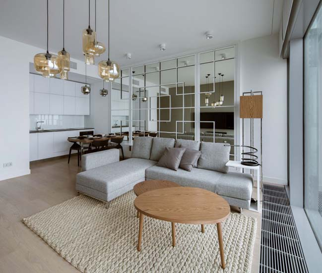 Căn hộ chung cư với thiết kế hiện đại tối giản