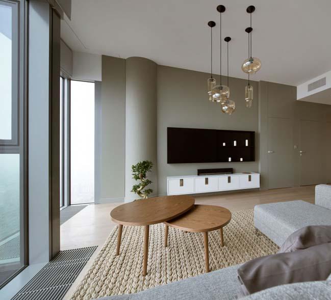 thiet ke noi that can ho chung cu 04 Cùng nhìn qua căn hộ chung cư với thiết kế hiện đại tối giản