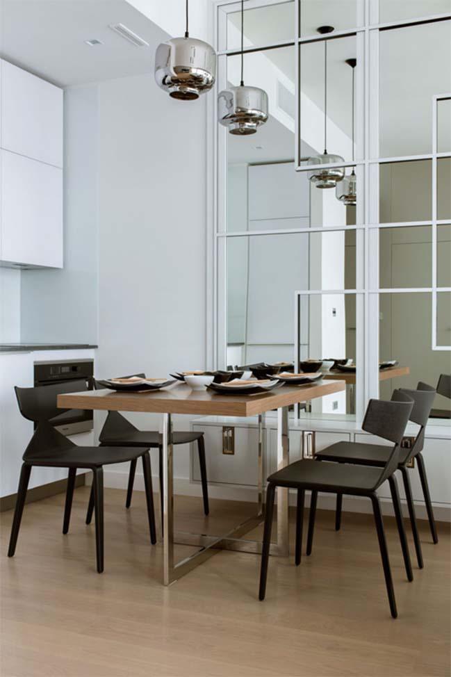 thiet ke noi that can ho chung cu 06 Cùng nhìn qua căn hộ chung cư với thiết kế hiện đại tối giản