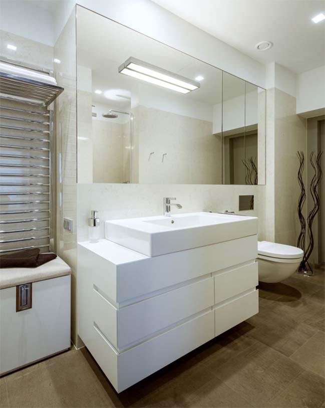 thiet ke noi that can ho chung cu 10 Cùng nhìn qua căn hộ chung cư với thiết kế hiện đại tối giản