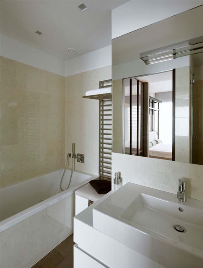 thiet ke noi that can ho chung cu 11 Cùng nhìn qua căn hộ chung cư với thiết kế hiện đại tối giản