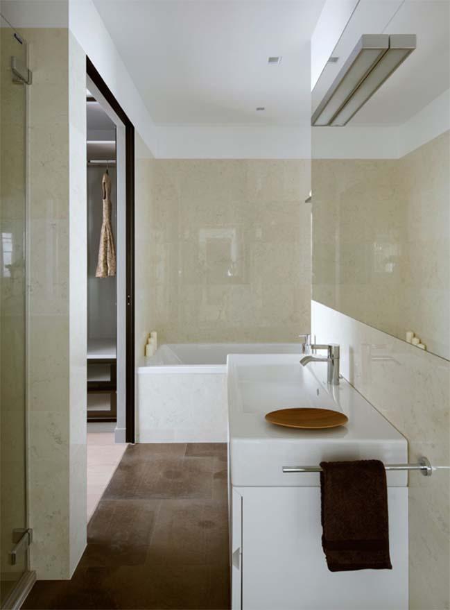 thiet ke noi that can ho chung cu 12 Cùng nhìn qua căn hộ chung cư với thiết kế hiện đại tối giản