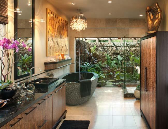 phong tam dep voi thiet ke thu gian 02 Cùng nhìn qua 16 mẫu phòng tắm đẹp với thiết kế thư giãn