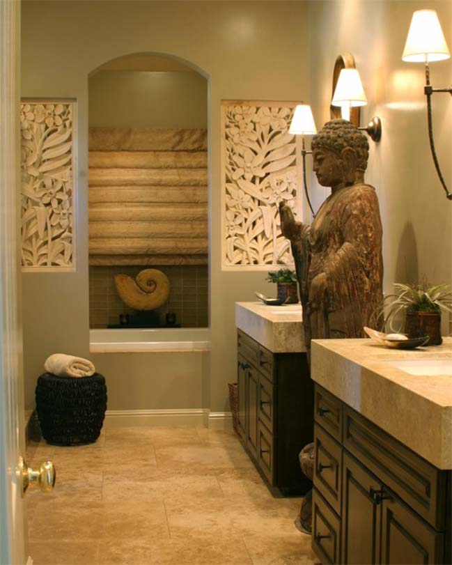 phong tam dep voi thiet ke thu gian 13 Cùng nhìn qua 16 mẫu phòng tắm đẹp với thiết kế thư giãn