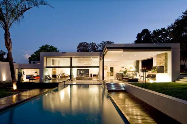 Biệt thự đẹp 1 tầng với thiết kế hiện đại sang trọng