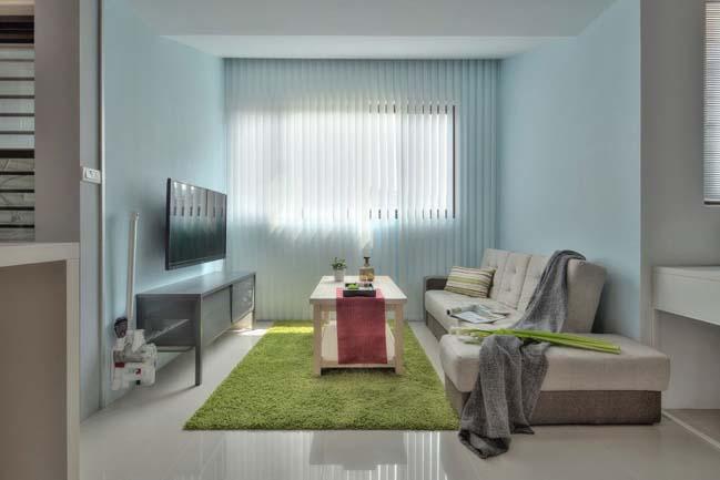 can ho nho dep 1 phong ngu 04 Gợi ý thiết kế hoàn hảo cho căn hộ nhỏ 1 phòng ngủ