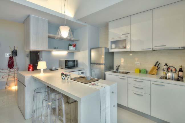 can ho nho dep 1 phong ngu 10 Gợi ý thiết kế hoàn hảo cho căn hộ nhỏ 1 phòng ngủ