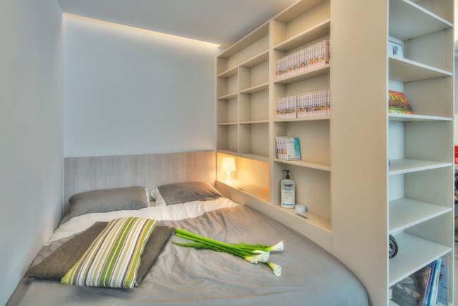 can ho nho dep 1 phong ngu 15 Gợi ý thiết kế hoàn hảo cho căn hộ nhỏ 1 phòng ngủ