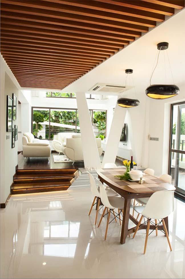 Biệt thự đẹp với thiết kế phá cách tại Sài Gòn