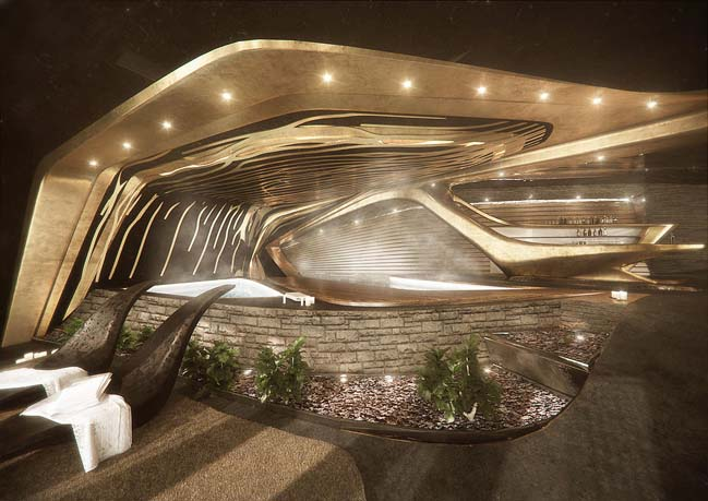 Ý tưởng kiến trúc táo bạo cho khách sạn siêu sang
