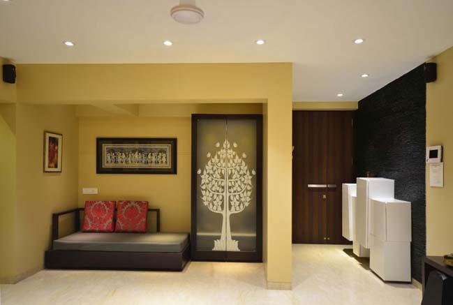 can ho chung cu voi thiet ke noi that hien dai 01 Thiết kế căn hộ chung cư với nội thất ấm cúng
