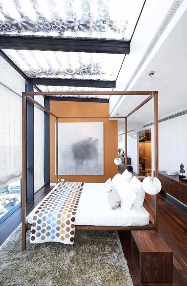 Căn hộ penthouse sang trọng ngập tràn ánh sáng