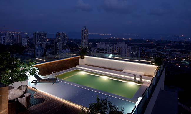 can ho penthouse 2 tang sang trong 06 Tham quan Penthouse 2 tầng hiện đại sang trọng