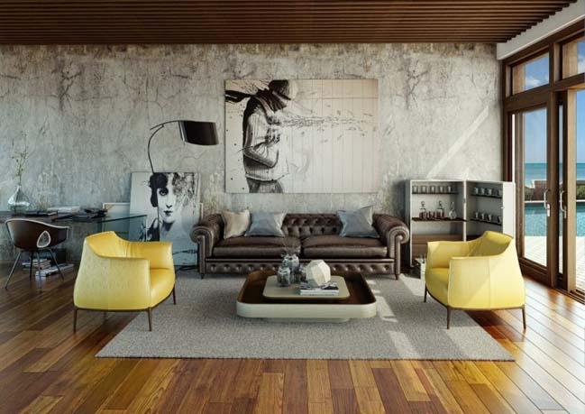 12 thiết kế nội thất sang trọng cho phòng khách đẹp