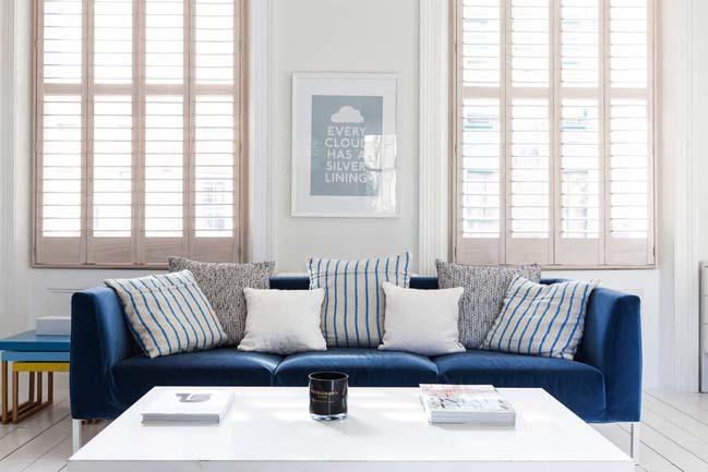 can ho chung cu voi phong cach thiet ke scandinavian 06 Tham quan căn hộ chung cư đẹp với màu trắng và xanh
