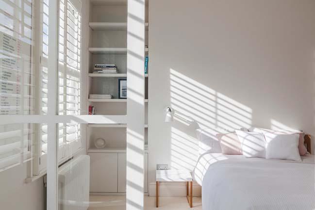 can ho chung cu voi phong cach thiet ke scandinavian 08 Tham quan căn hộ chung cư đẹp với màu trắng và xanh