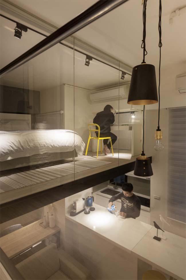 Thiết kế hiện đại sang trọng cho nhà đẹp gác lửng