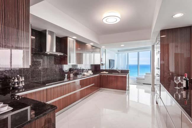 can ho penthouse voi thiet ke sang trong 05 Thiết kế kiến trúc và thiết kế nội thất sang trọng cho căn hộ penthouse