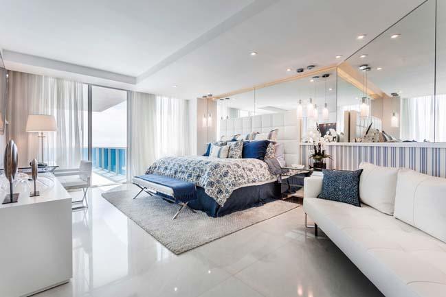can ho penthouse voi thiet ke sang trong 07 Thiết kế kiến trúc và thiết kế nội thất sang trọng cho căn hộ penthouse