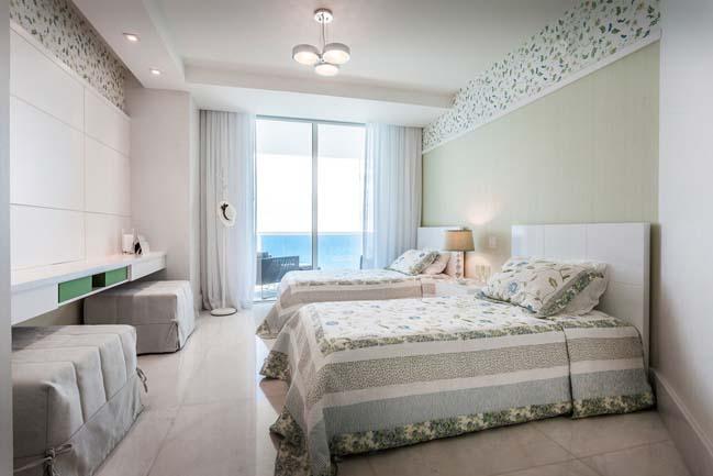 can ho penthouse voi thiet ke sang trong 08 Thiết kế kiến trúc và thiết kế nội thất sang trọng cho căn hộ penthouse