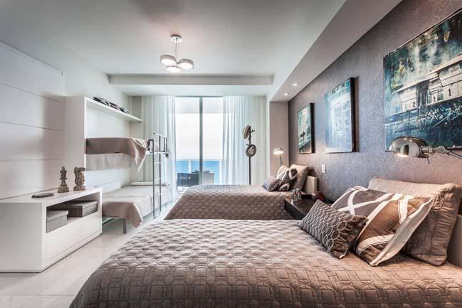 can ho penthouse voi thiet ke sang trong 09 Thiết kế kiến trúc và thiết kế nội thất sang trọng cho căn hộ penthouse