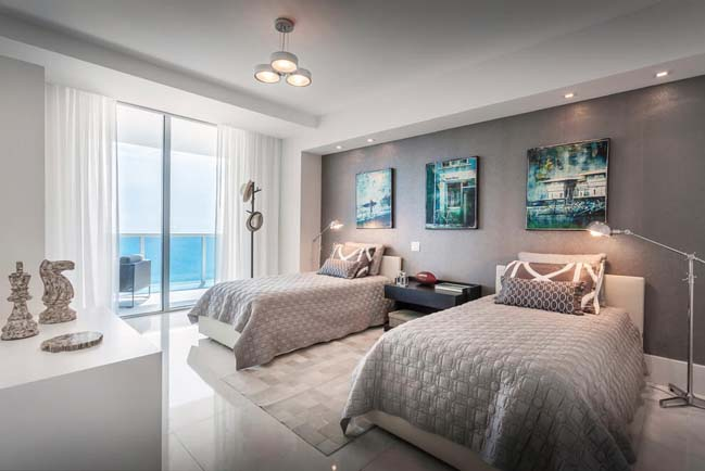 can ho penthouse voi thiet ke sang trong 10 Thiết kế kiến trúc và thiết kế nội thất sang trọng cho căn hộ penthouse