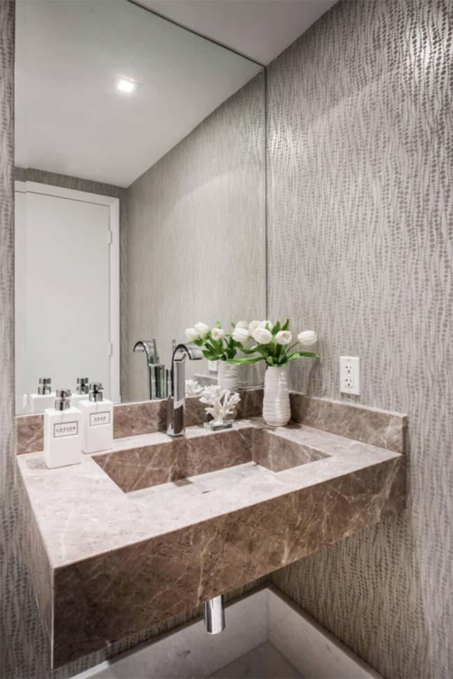 can ho penthouse voi thiet ke sang trong 11 Thiết kế kiến trúc và thiết kế nội thất sang trọng cho căn hộ penthouse