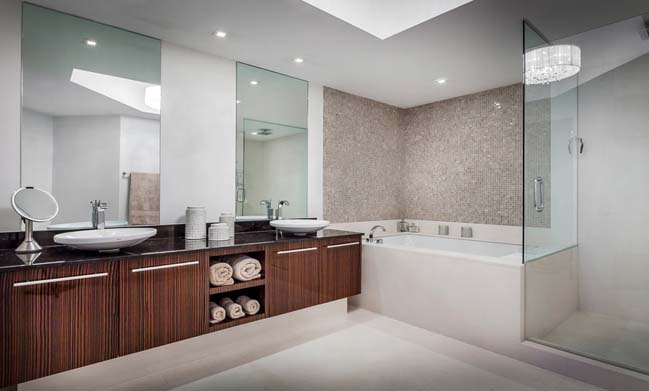 can ho penthouse voi thiet ke sang trong 13 Thiết kế kiến trúc và thiết kế nội thất sang trọng cho căn hộ penthouse