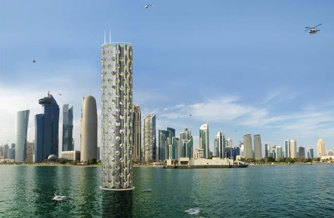 Ý tưởng kiến trúc xanh cho những tòa nhà tương lai