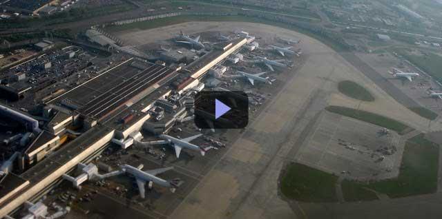 Video kiến trúc: Sân bay Heathrow Luân Đôn