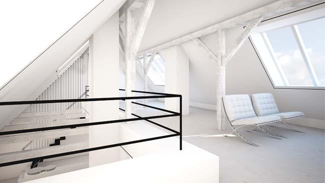 Ngắm penthouse sang trọng với sắc thái màu trắng
