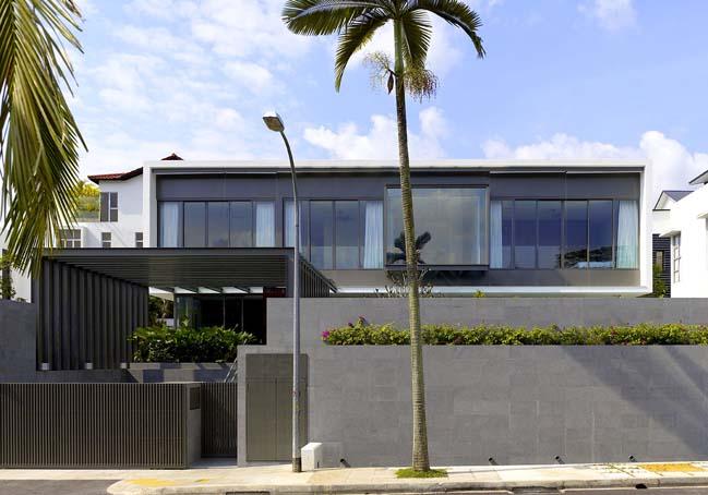 Ngôi biệt thự đẹp với không gian mở hiện đại