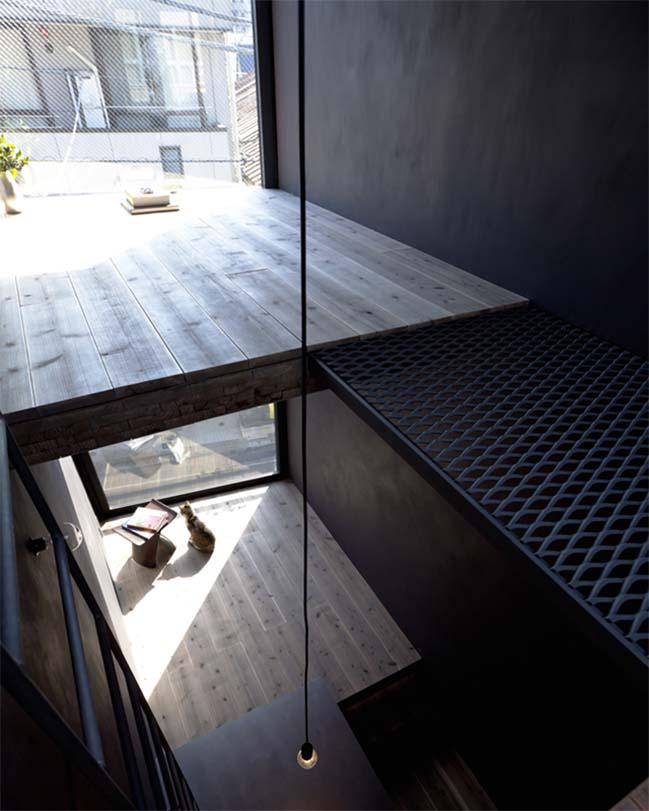 thiet ke nha dep 07 Chia sẻ thiết kế nhà phố đẹp 4 tầng với bề ngang chỉ 1m8