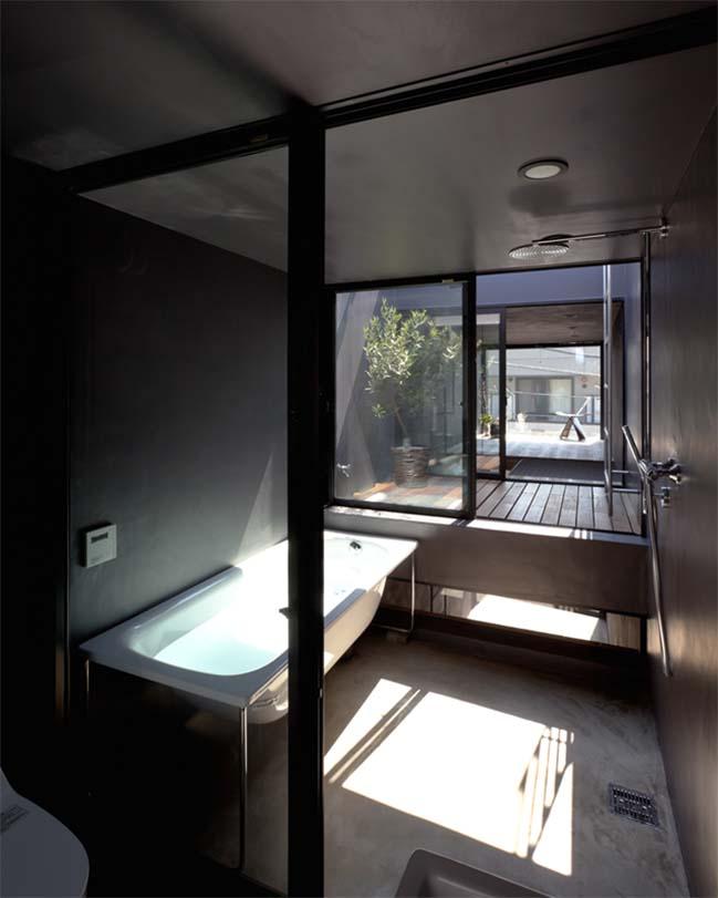 thiet ke nha dep 08 Chia sẻ thiết kế nhà phố đẹp 4 tầng với bề ngang chỉ 1m8