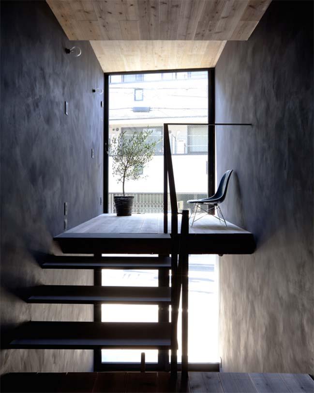 thiet ke nha dep 10 Chia sẻ thiết kế nhà phố đẹp 4 tầng với bề ngang chỉ 1m8