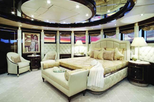 Tham khảo những mẫu phòng ngủ đẹp trên du thuyền siêu sang