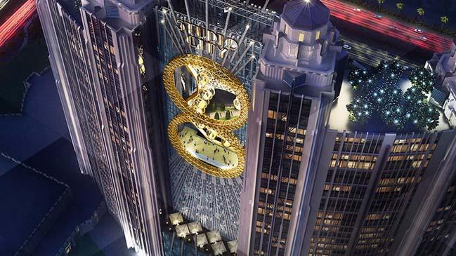 Vòng đu quay hình số 8 độc nhất thế giới tại Ma Cao
