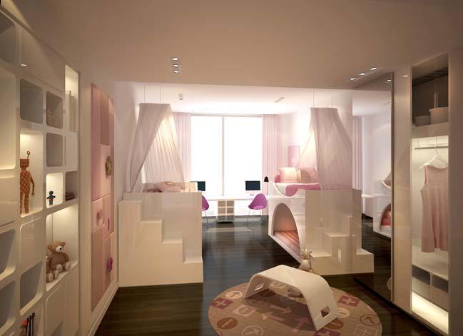 can ho penthouse tai sai gon pearl 03 Chiêm ngưỡng căn hộ penthouse cao cấp sang trọng tại Sài Gòn Pearl